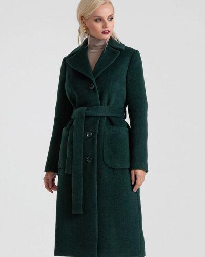 Пальто демисезонное зеленое Lova
