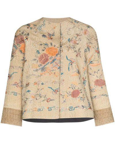 Хлопковая куртка с вышивкой By Walid