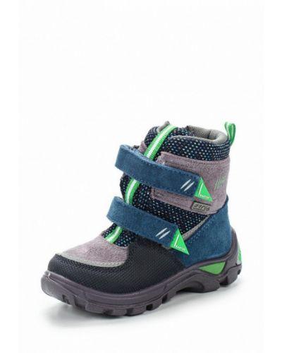 Ботинки замшевые текстильные Bartek