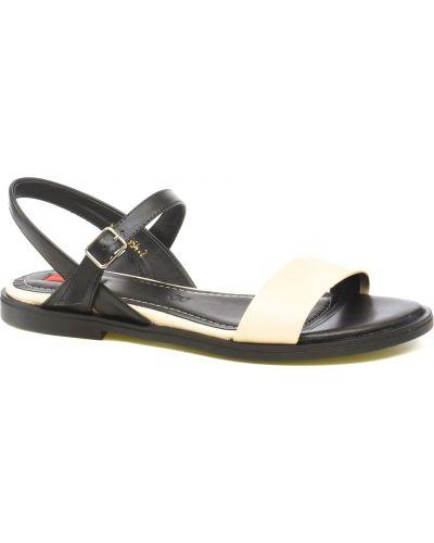 Кожаные сандалии - белые Alex Bell