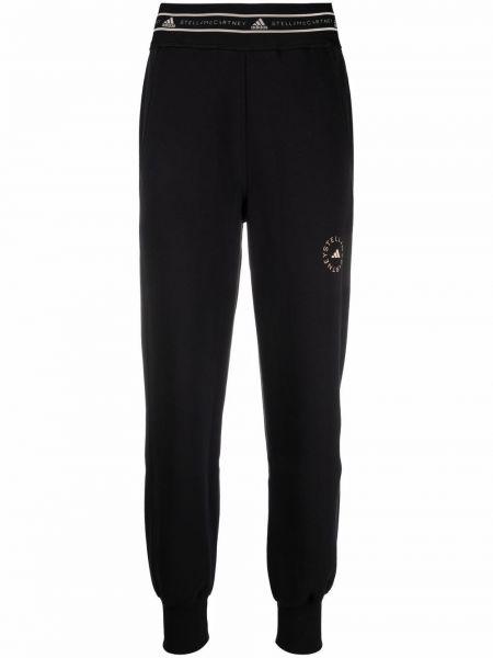 Черные прямые брюки Adidas By Stella Mccartney