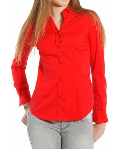 Красная рубашка хлопковая Gas