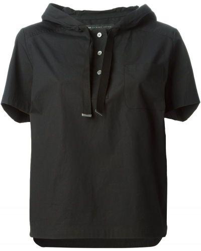 Топ с капюшоном черный Marc By Marc Jacobs