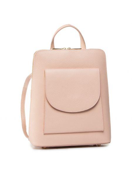 Różowy plecak Creole