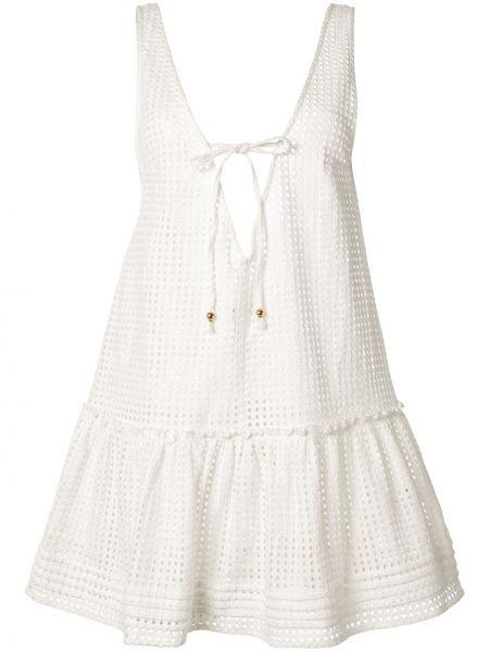 Ажурное платье - белое Suboo