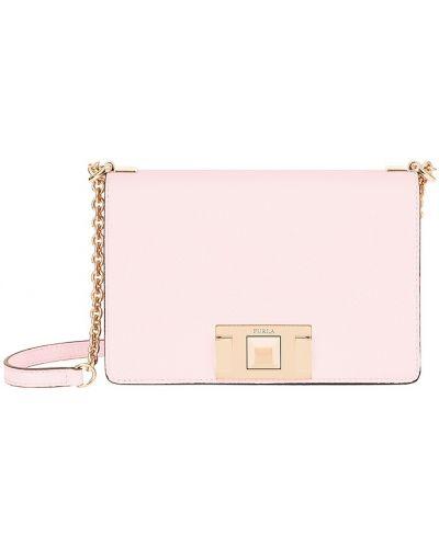 Боди розовый нейлоновое Furla