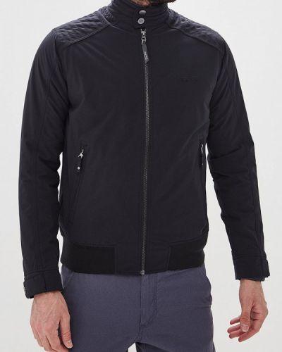 Утепленная куртка демисезонная черная Tenson