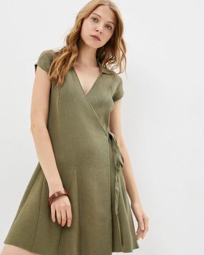 Джинсовое платье - хаки Guess Jeans