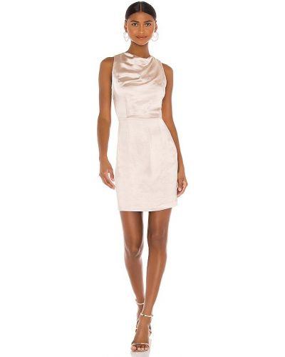 Свободное бежевое деловое платье Elliatt