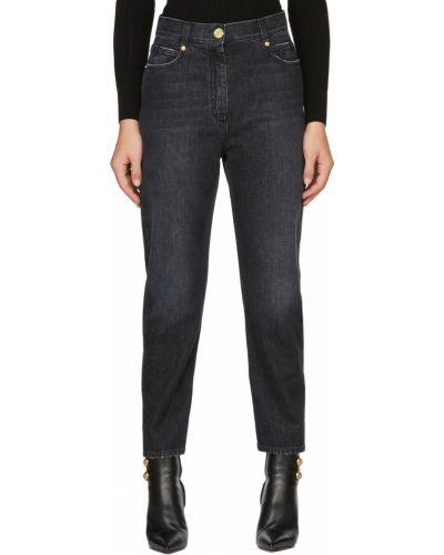 Черные джинсы стрейч Balmain