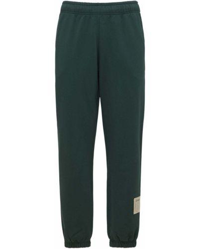 Zielone spodnie z haftem Jaded London