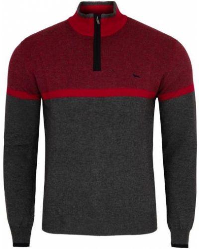 Bawełna kaszmir sweter z zamkiem błyskawicznym Harmont & Blaine