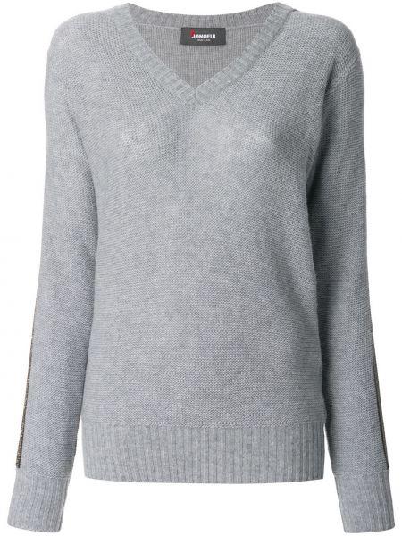 Пуловер - серый Jo No Fui