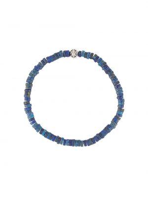 Niebieska bransoletka srebrna Nialaya Jewelry