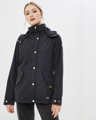 Куртка весенняя черная Luhta