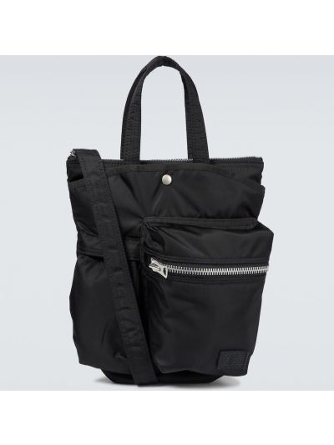 Czarna torebka z nylonu Sacai