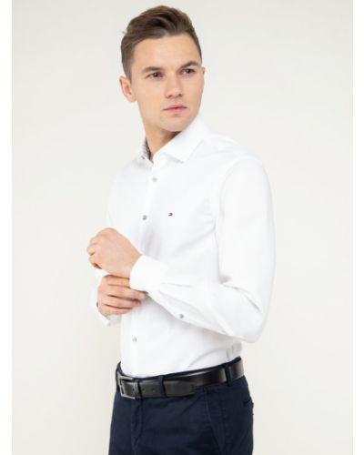 Klasyczna biała koszula oxford Tommy Hilfiger