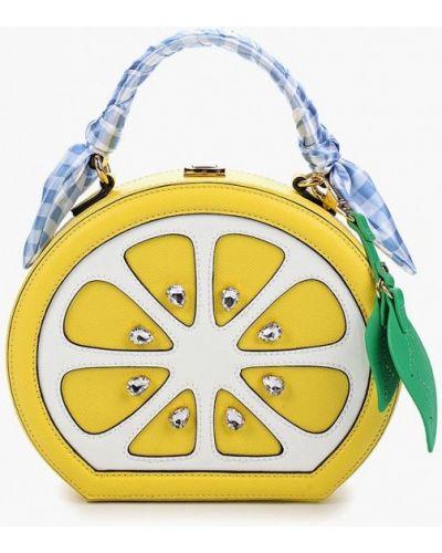 Желтая сумка через плечо Aldo