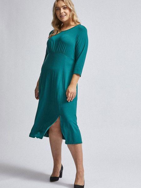 Повседневное платье бирюзовый весеннее Dorothy Perkins Curve