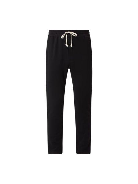 Czarne spodnie dresowe bawełniane miejskie Urban Classics