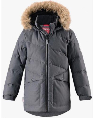 Серая куртка Reima