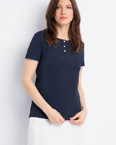 Синяя футболка свободная Finn Flare