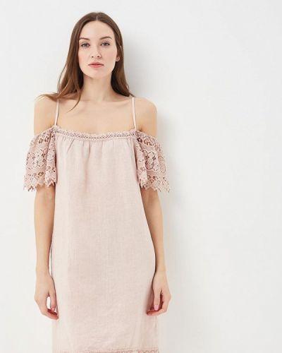 Платье весеннее бежевое Perfect J