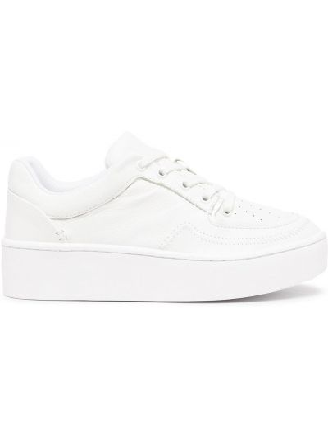 Białe buty sportowe skorzane Schutz