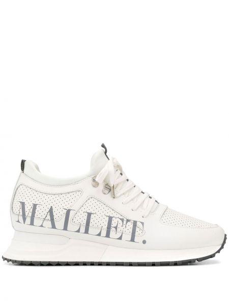 Высокие кроссовки с перфорацией Mallet Footwear
