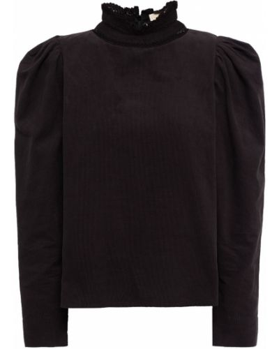 Czarna bluzka bawełniana Bytimo