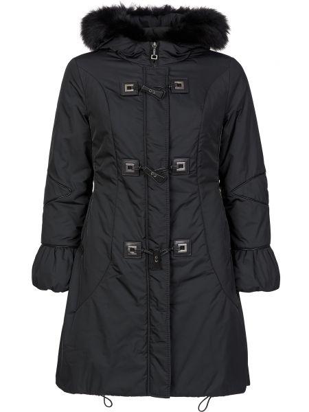 Куртка из полиэстера - черная Gallotti