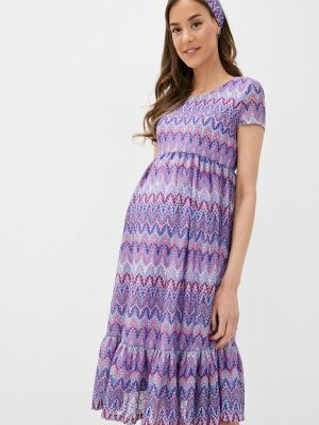 Платье прямое весеннее Mammysize