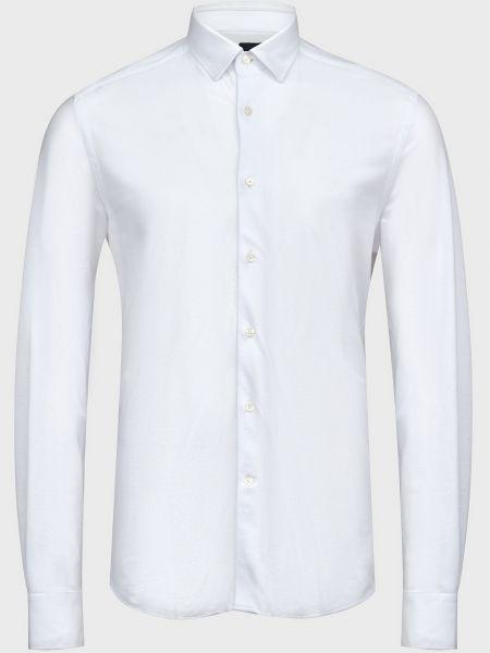 Хлопковая рубашка - белая Lab. Pal Zileri