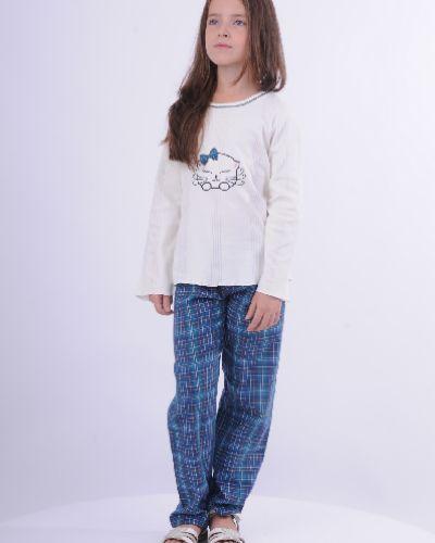 Пижама с брюками с шортами черная Blackspade