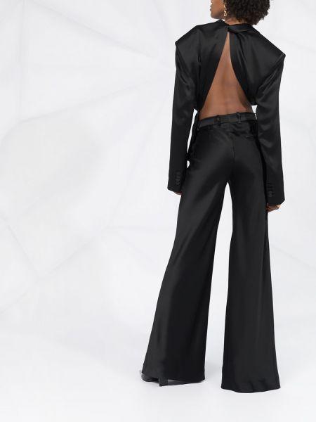 Пиджак с открытой спиной - черный Fenty