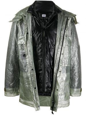 Длинная куртка - зеленая C.p. Company