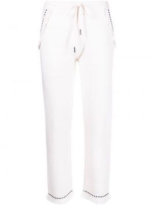 Укороченные брюки - белые Max & Moi
