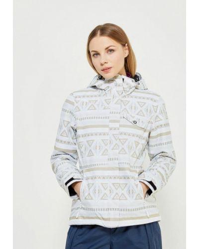 Белая горнолыжная куртка Icepeak