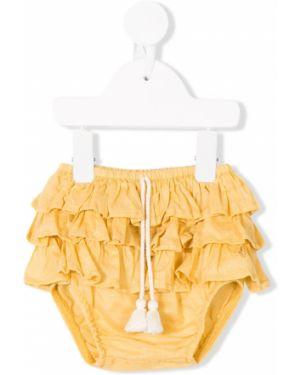 Желтые шорты Tocotò Vintage