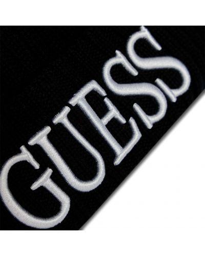 Шапка - черная Guess