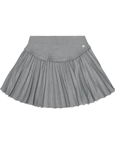 Серая плиссированная юбка из вискозы Tartine Et Chocolat
