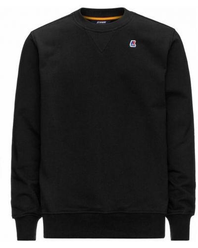 Czarna bluza dresowa K-way
