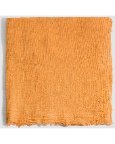 Оранжевый шарф Mango