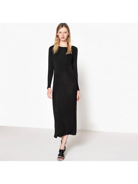 Платье миди мини с длинными рукавами прямое La Redoute Collections