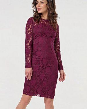Вечернее платье бордовый красный Fly