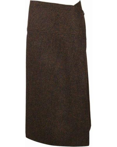 Spódnica - brązowa Victoria Beckham