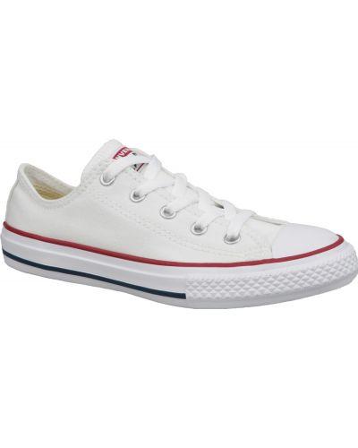 Białe trampki casual Converse
