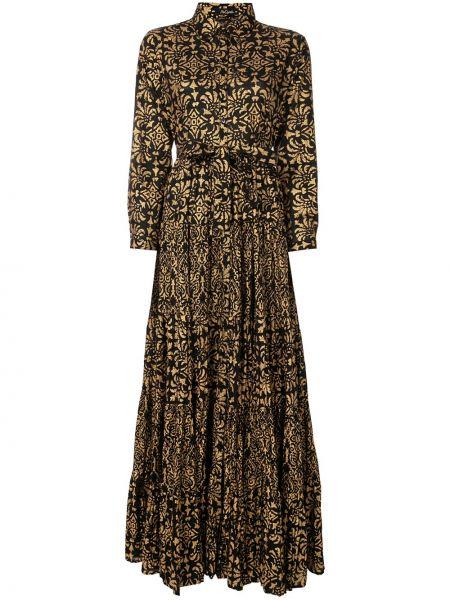Платье на пуговицах с цветочным принтом Mes Demoiselles