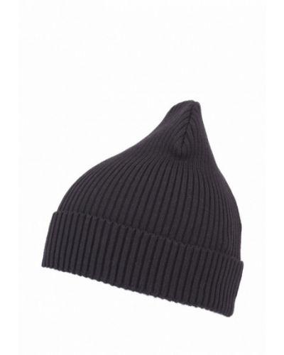 Черная шапка весенняя Fomas