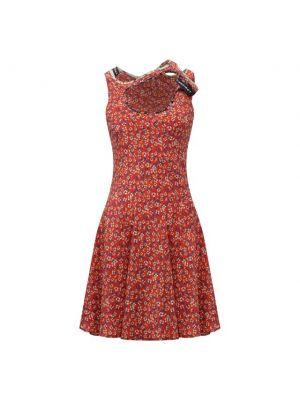 Шелковое платье мини - красное Y Project